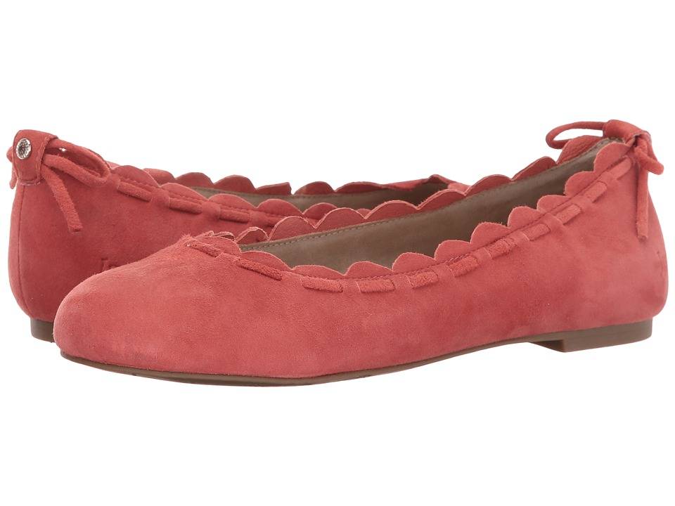 Jack Rogers Lucie (Burnt Orange Suede) Women
