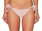 Jacquard Stripe Terry Grommet Tie Bottom