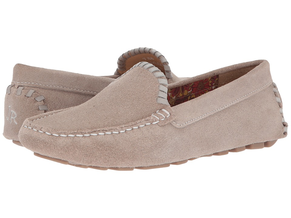 Jack Rogers - Taylor Suede (Dove Grey (Prior Season)) Womens Flat Shoes
