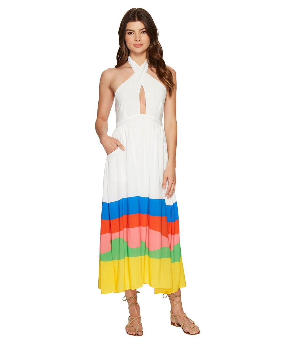 Mara Hoffman - Beach Ball Halter Midi Dress