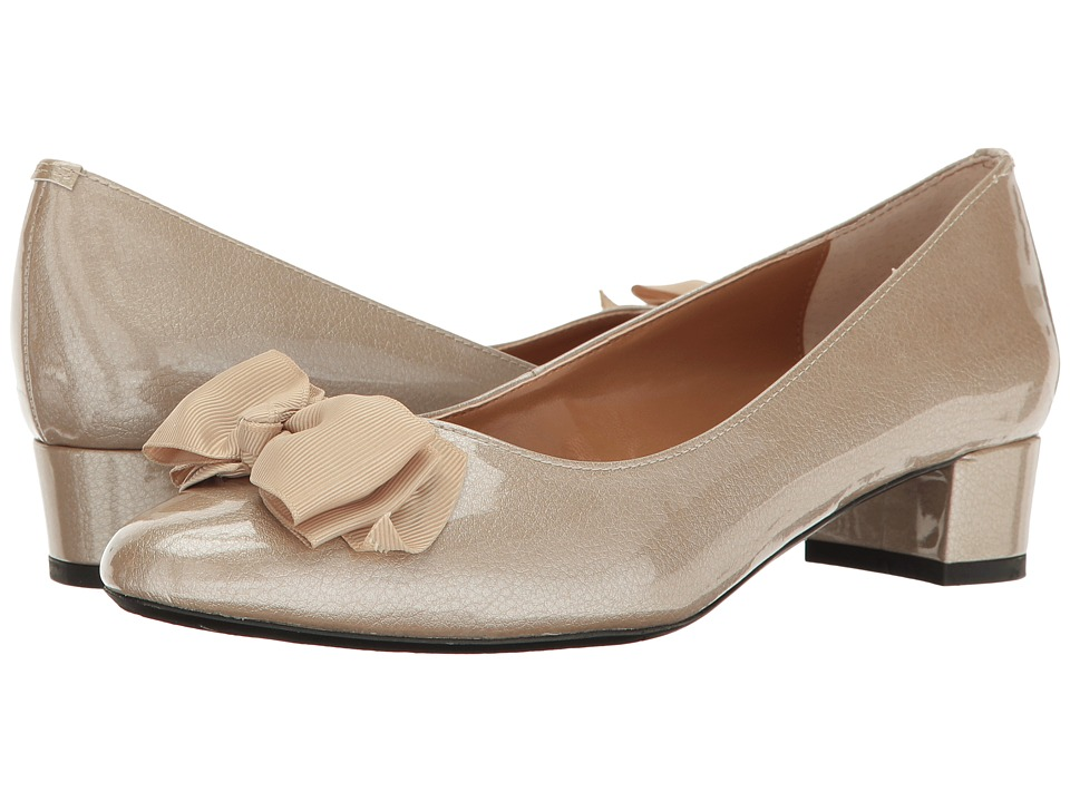 1960s Style Shoes J. Renee - Cameo Taupe Womens Wedge Shoes $89.95 AT vintagedancer.com