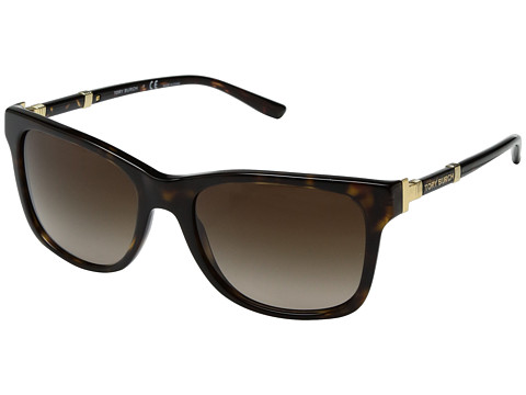Tory Burch 0TY7109 55mm - Dark Tortoise/Brown Gradient