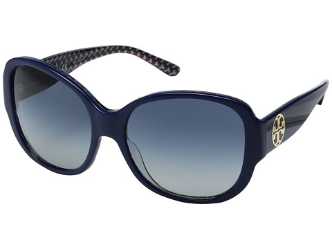 Tory Burch 0TY7108 56mm - Navy/Blue Zigzag/Blue Gradient