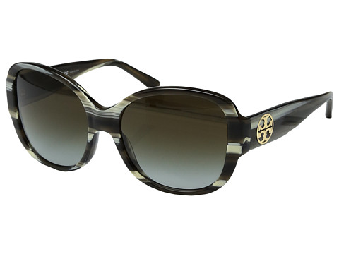 Tory Burch 0TY7108 56mm - Olive Horn/Green Clear Gradient