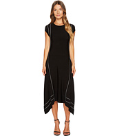 ESCADA Sport - Diklina Short Sleeve Handkerchief Hem Dress