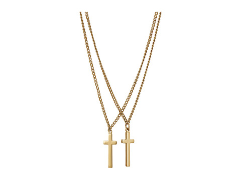 DSQUARED2 Double Cross Necklace