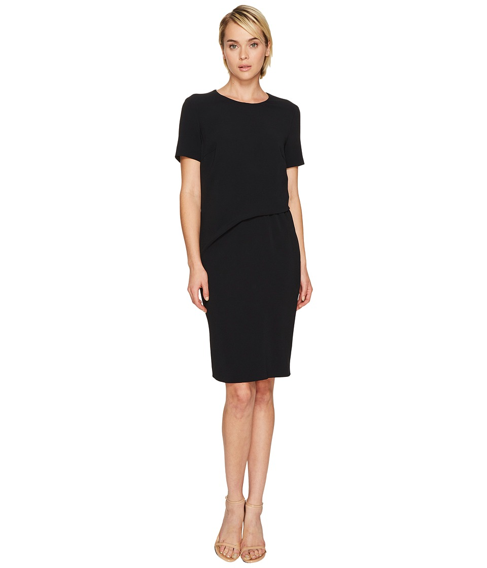 ESCADA - Davine Short Sleeve Tucked Dress