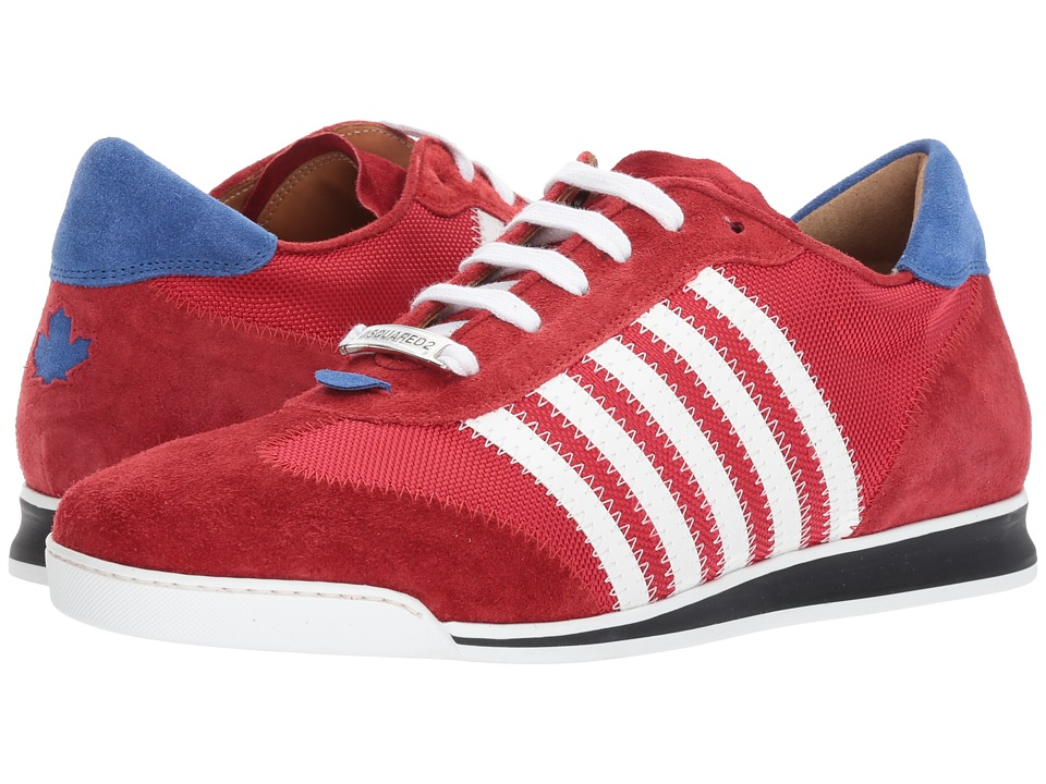 DSQUARED2 New Runner Sneaker (Red/White) Men