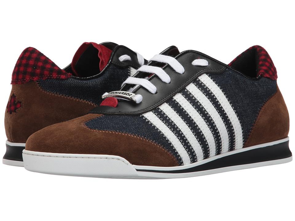 DSQUARED2 New Runner Sneaker (Blue/White) Men
