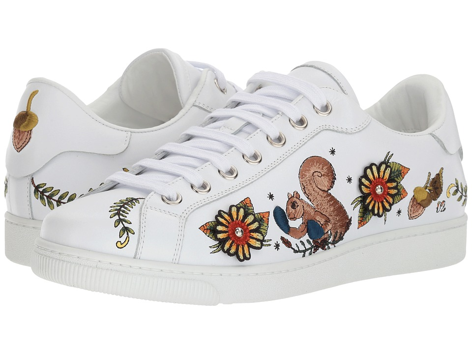 DSQUARED2 Santa Monica Embroidered Sneaker (Multicolor) Men