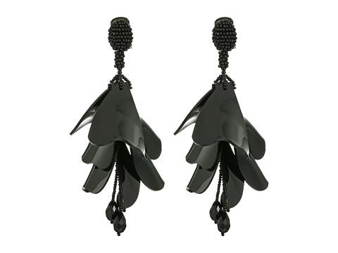 Oscar de la Renta Impatiens Flower Drop C Earrings