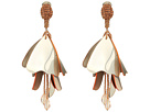 Oscar de la Renta - Impatiens Flower Drop C Earrings