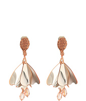 Oscar de la Renta - Mini Impatiens Flower Drop C Earrings