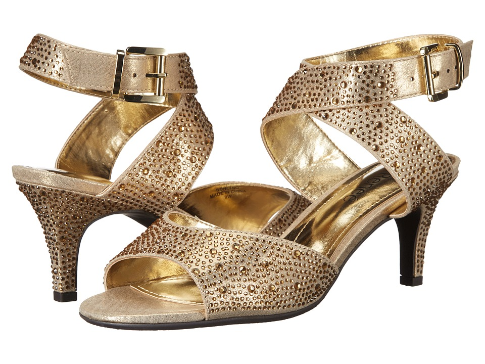 J. Renee Soncino (Gold Rhineston) Women's Shoes