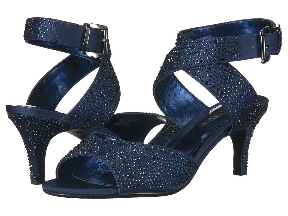 J. Renee Soncino (Navy Rhineston) Women's Shoes