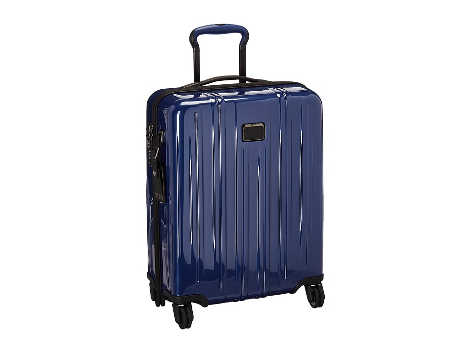 Tumi V3 International Slim Carry-On (Pacific Blue) Carry on Luggage