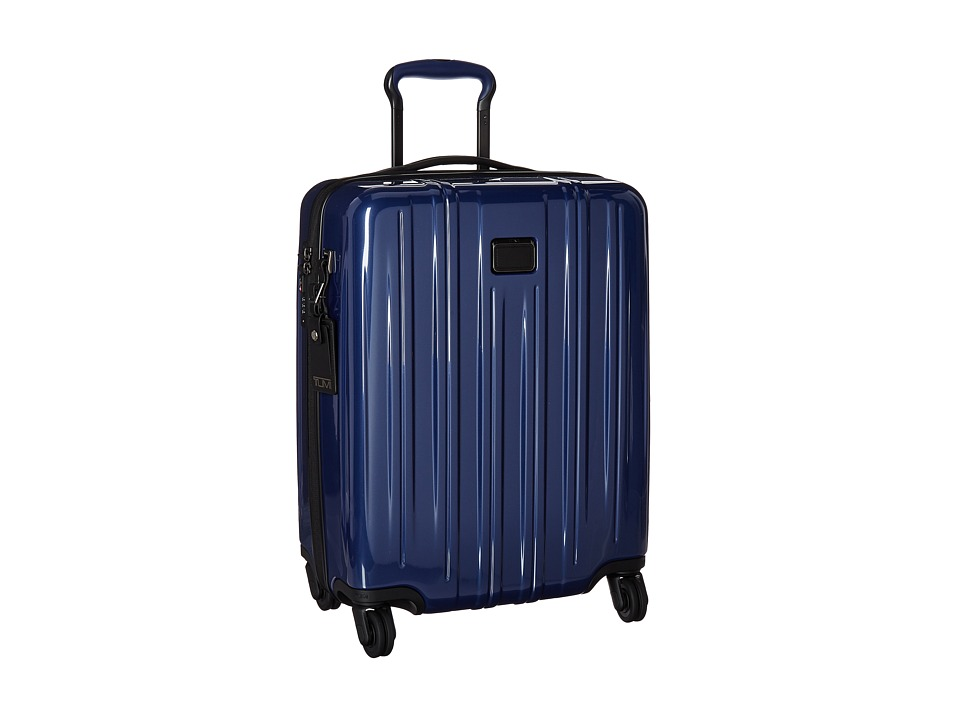 Tumi V3 Continental Carry-On (Pacific Blue) Carry on Luggage