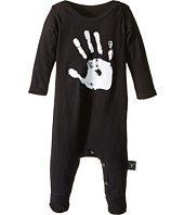 Nununu - Hand Print Overall Footie (Infant)