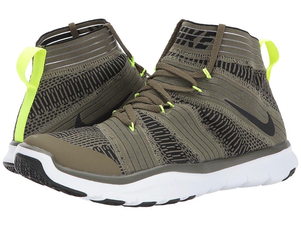 Nike Free Train Virtue (Medium Olive/Black/Volt/White) Men