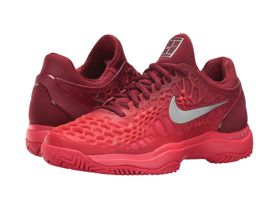 Nike Zoom Cage 3 HC (Team Red/Metallic Silver/Siren Red) ...