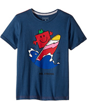Quiksilver Kids - Mr. Strong Classic Tee (Toddler/Little Kids)