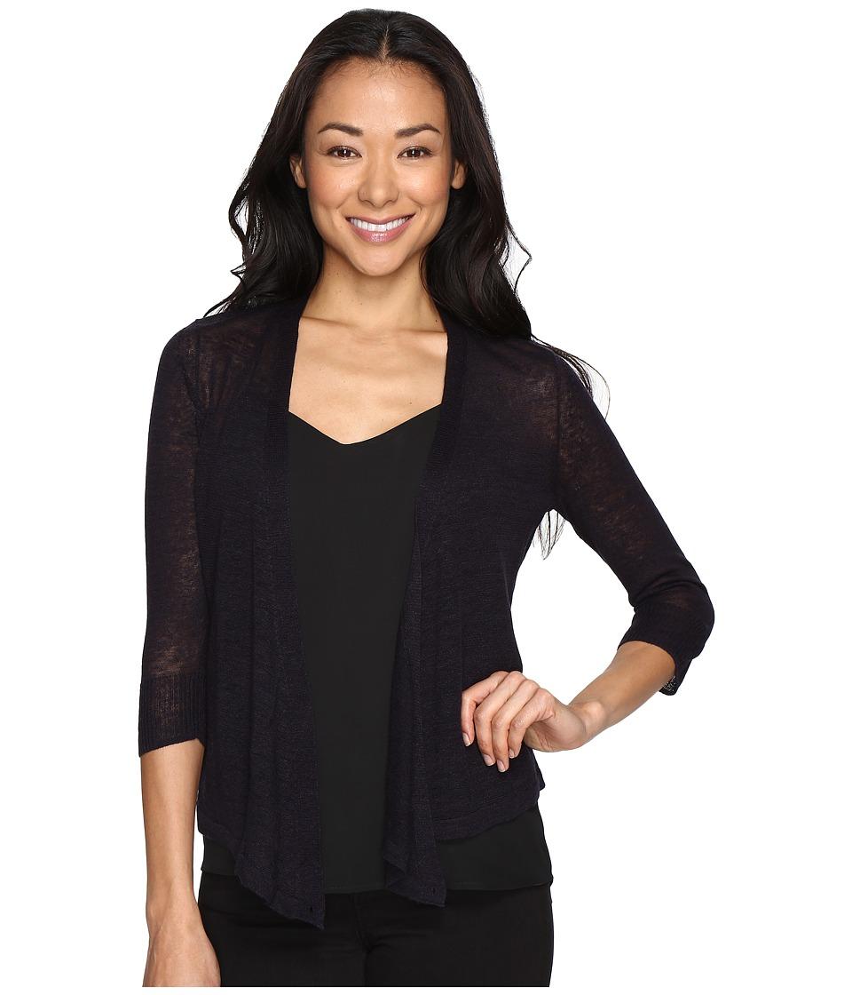 Nic+Zoe Petite 4 Way Cardy (Midnight) Women's Sweater