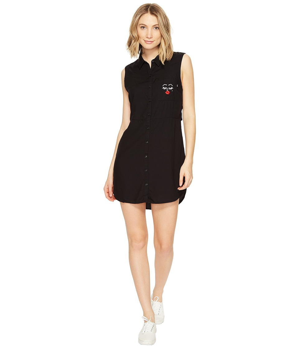 Vans Kendra Dandy Camp Dress (Black) Women