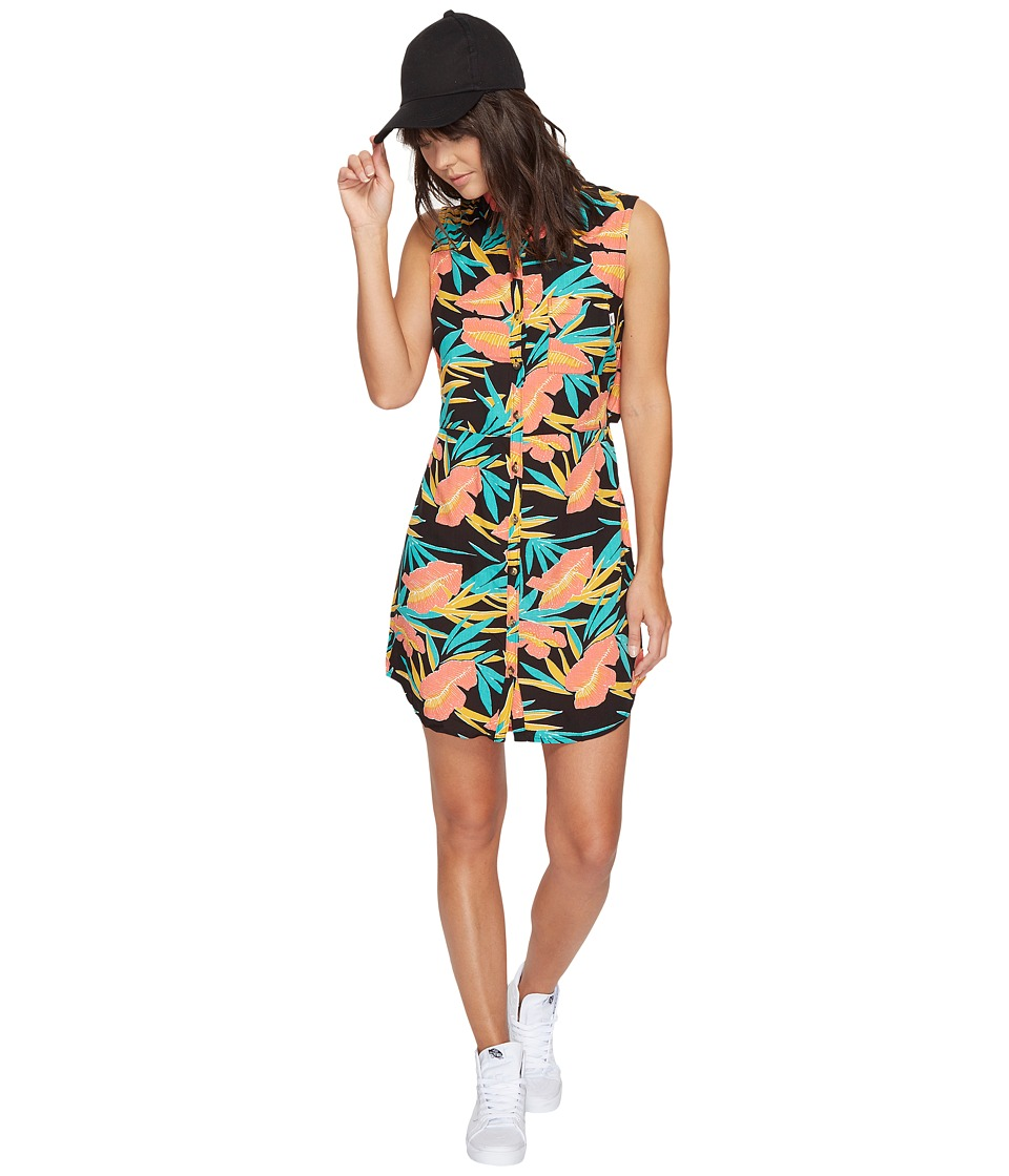 Vans Tropic Camp Dress (Black Tropical) Women