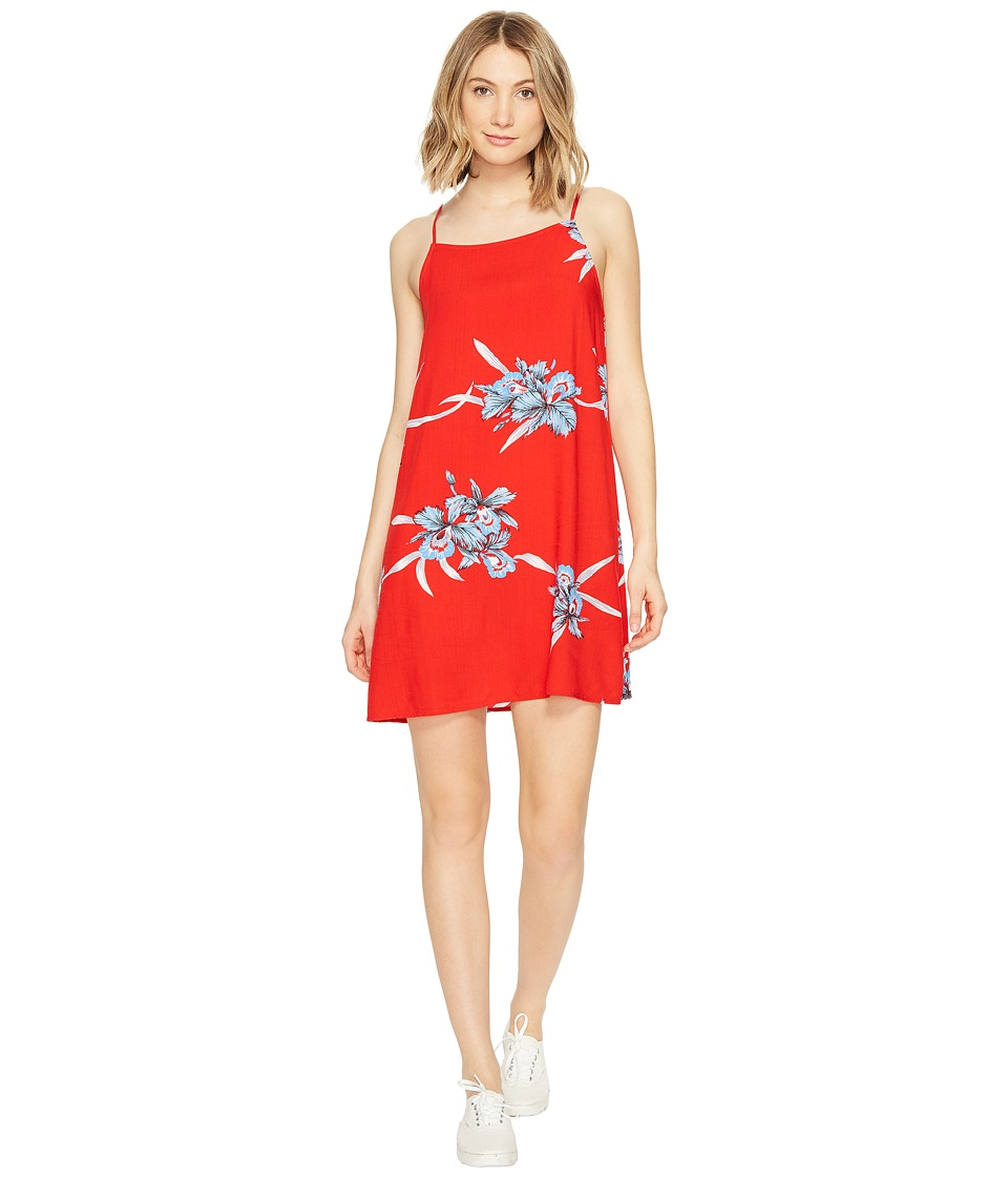 Vans Marie II Dress (Tomato Hawaiian) Women