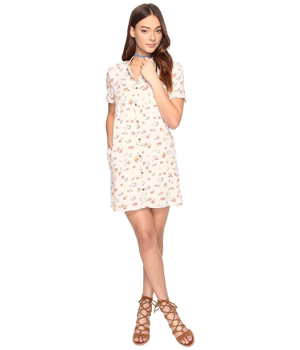 Vans Mean Streets Dress (White Sand 70s Floral) Women