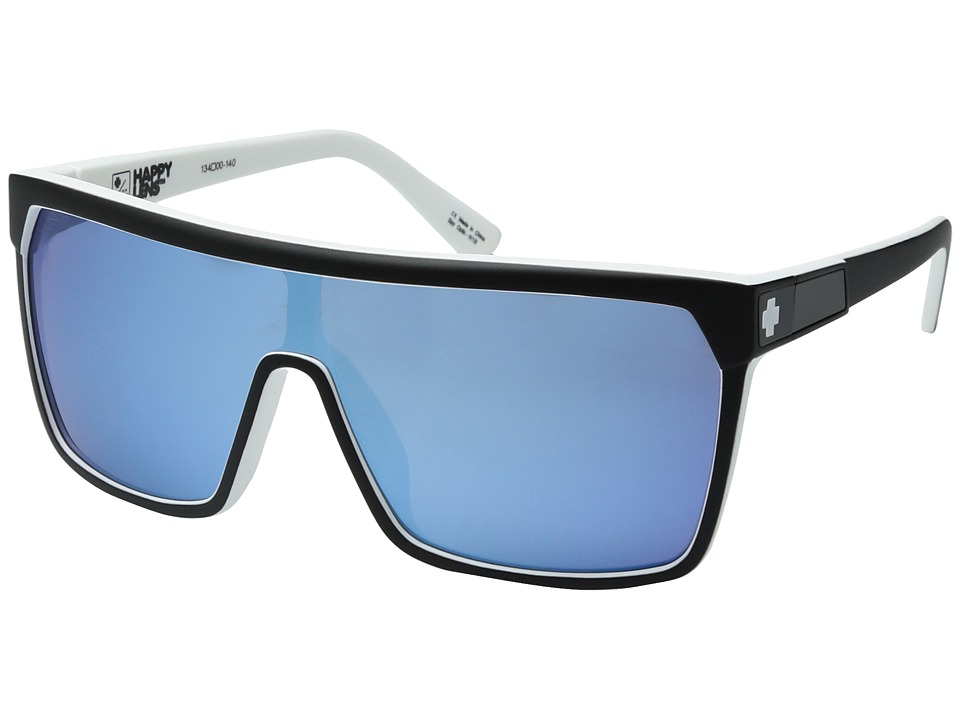 Spy Optic Flynn (Whitewall/Happy Gray/Green/Light Blue Spectra) Sport Sunglasses