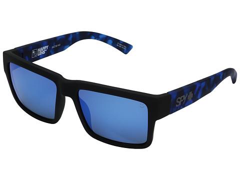 Spy Optic Montana - Soft Matte Black/Navy Tort/Happy Gray/Green/Dark Blue Spectra