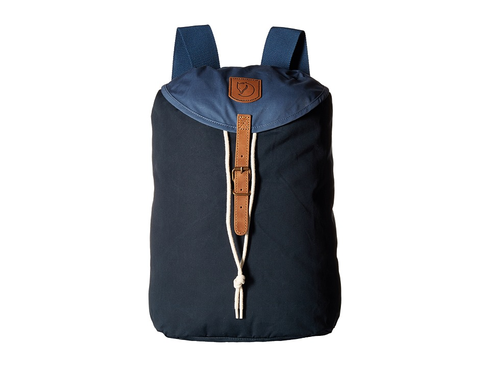 Fjallraven - Greenland Backpack Small (Dark Navy/Uncle Blue) Backpack Bags