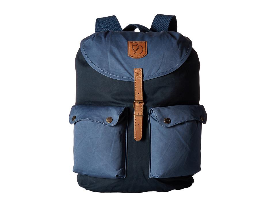Fjallraven - Greenland Backpack Large (Dark Navy/Uncle Blue) Backpack Bags