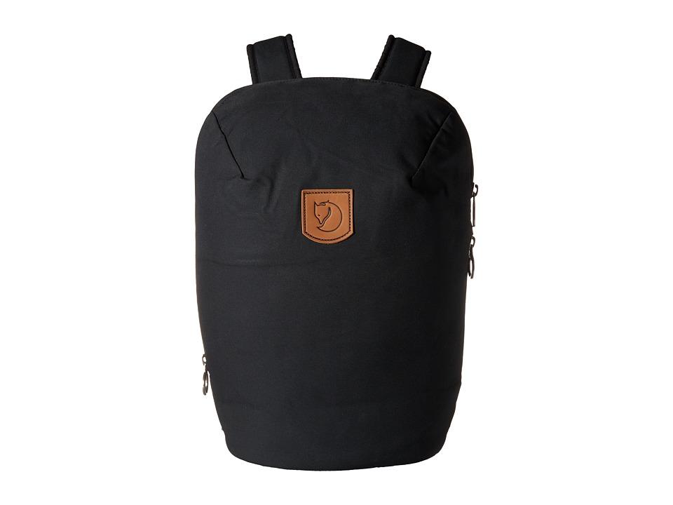 Fjallraven - Kiruna Backpack (Black) Backpack Bags