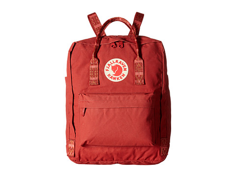 Fjällräven Kånken - Deep Red/Folk Pattern