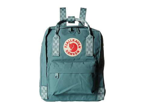 Fjällräven Kånken Mini - Frost Green/Chess Pattern