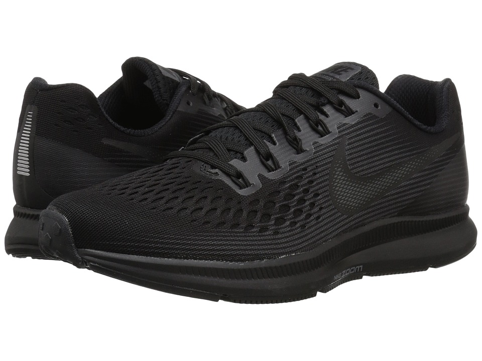 2bb5a51376ac Nike Air Zoom Pegasus 34 (Black-Dark Grey-Anthracite) Womens Running Shoes