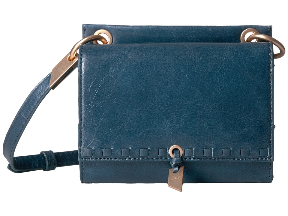 Foley & Corinna - Violetta Flat Crossbody (Petrolio) Handbags