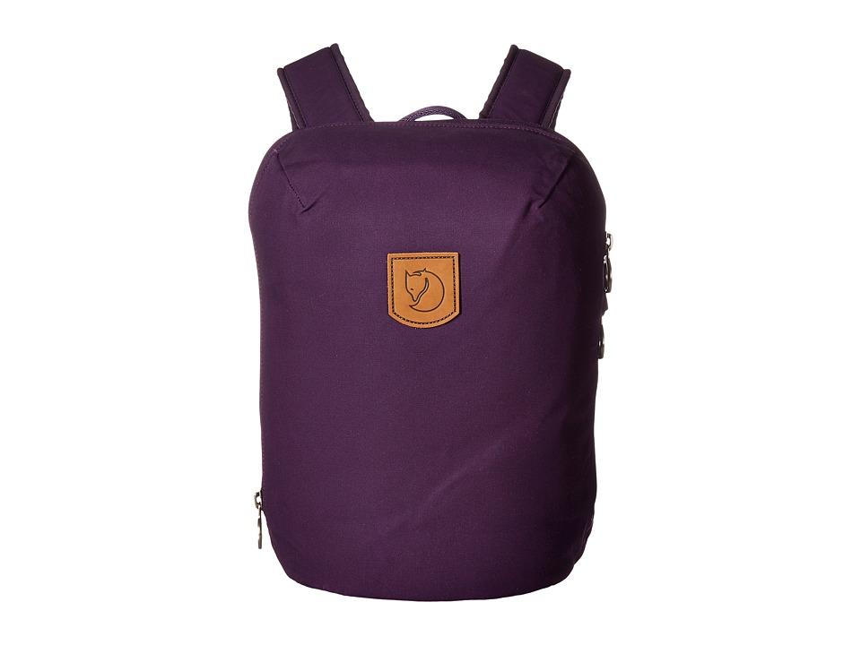 Fjallraven - Kiruna Backpack Small (Alpine Purple) Backpack Bags