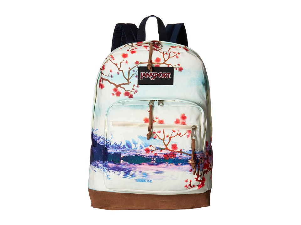 JanSport Right Pack Expressions (Multi Cherry Blossom) Backpack Bags