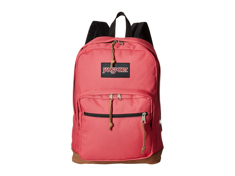 JanSport Right Pack (Sangria Pink) Backpack Bags