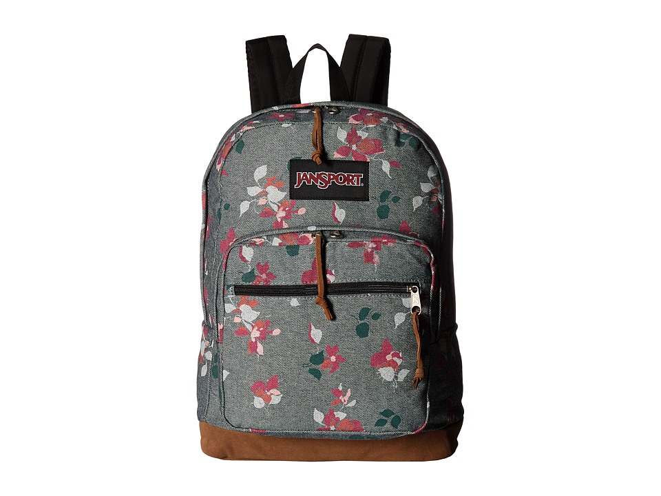 JanSport - Right Pack Expressions (Chambray Sweet Blossom) Backpack Bags