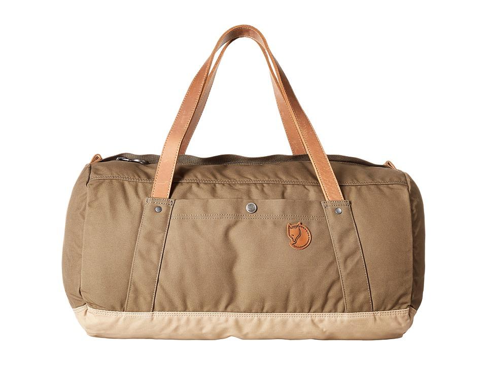 Fjallraven - Duffel No. 4 (Khaki/Sand) Duffel Bags
