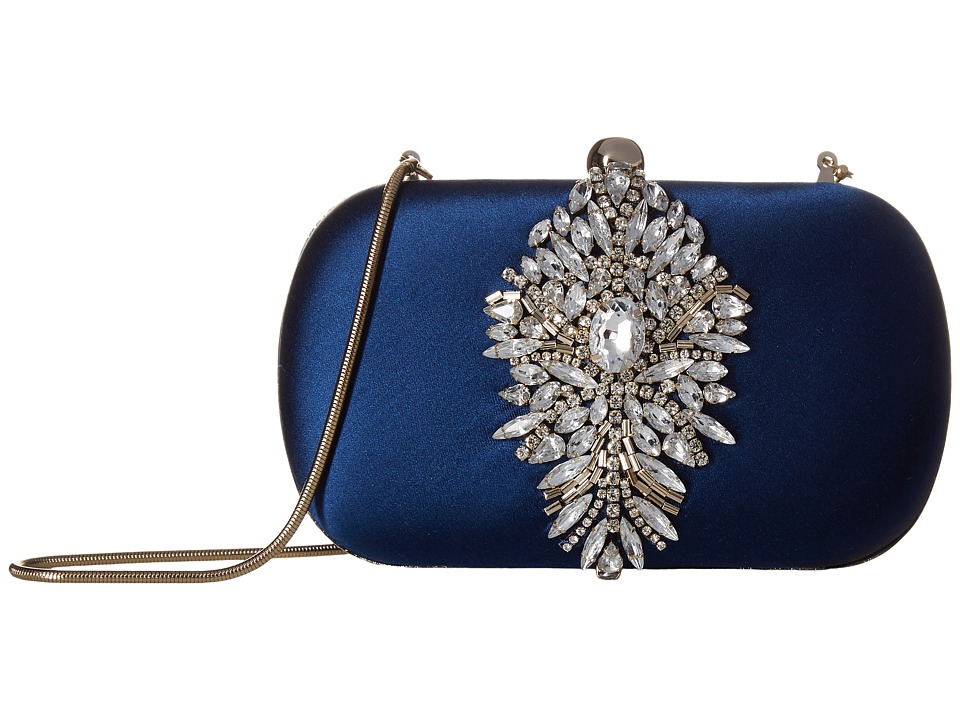 Badgley Mischka Aurora (Navy) Clutch Handbags