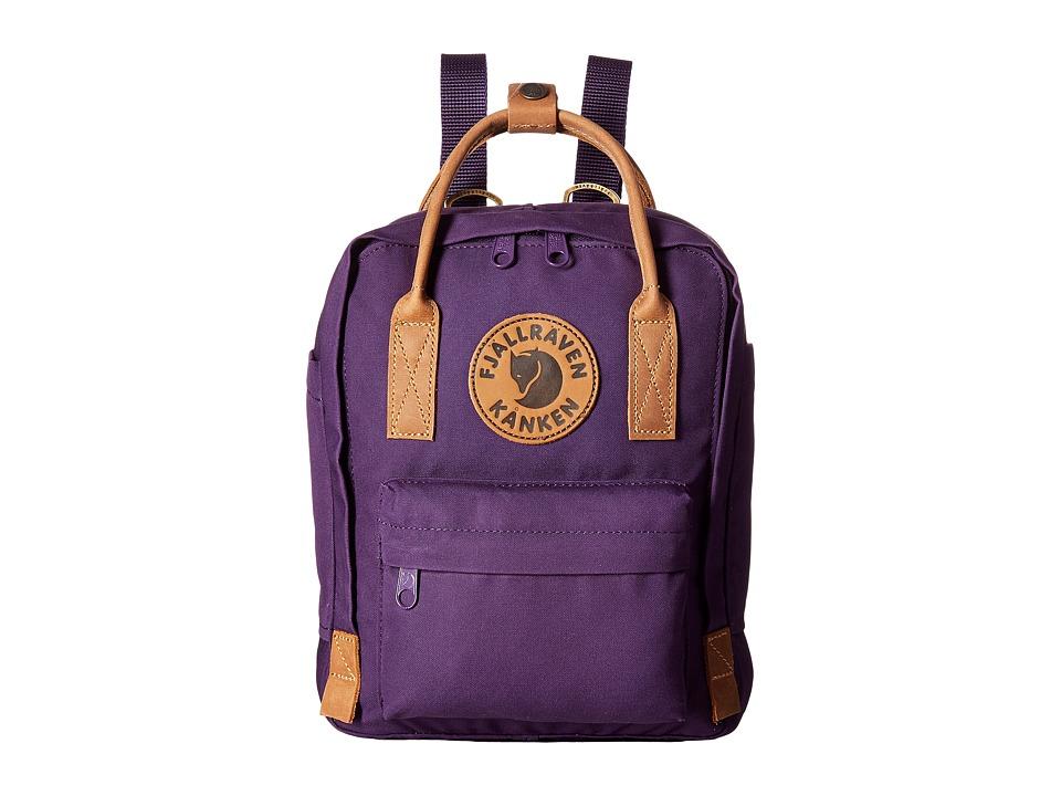 Fjallraven - Kanken No. 2 Mini (Alpine Purple) Bags
