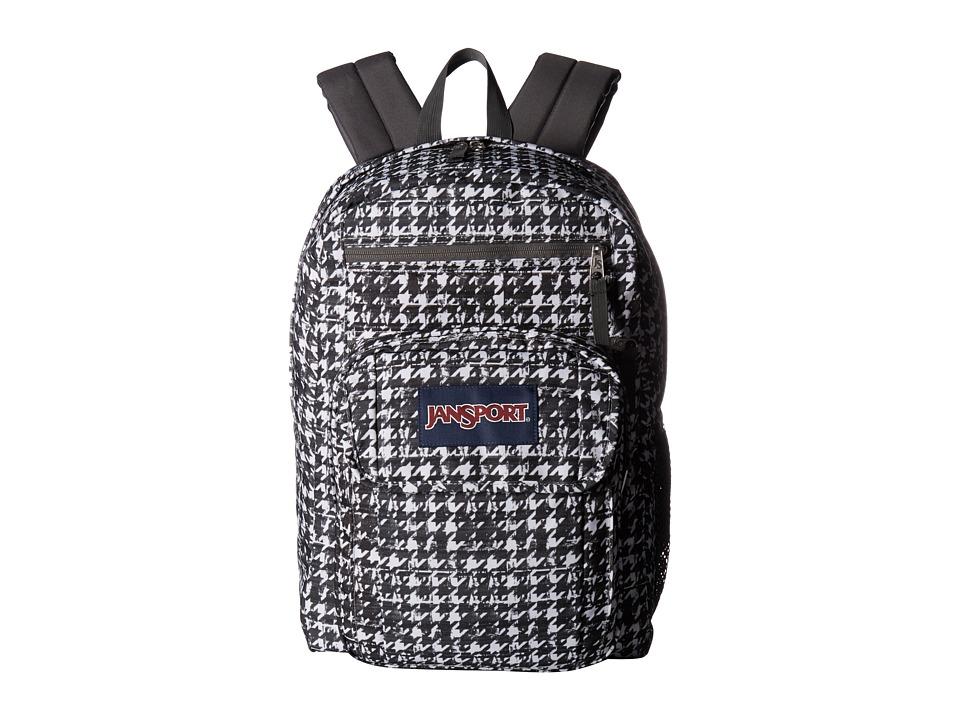 JanSport Digital Student (Black Texture Tooth) Backpack Bags