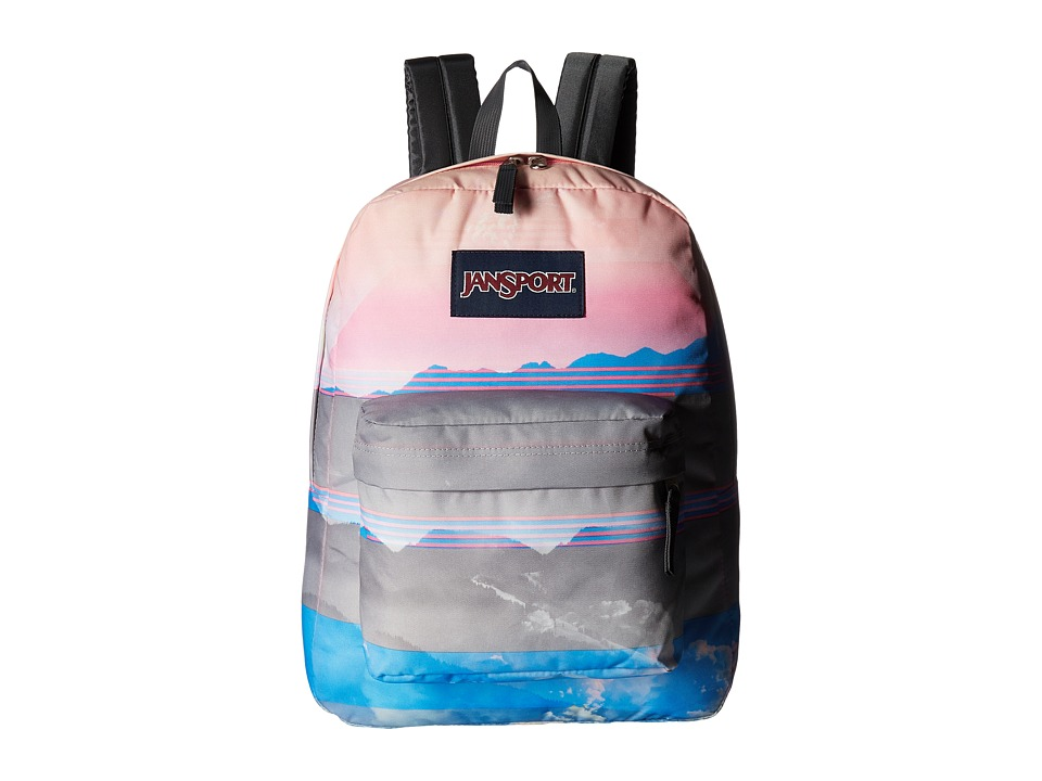 JanSport High Stakes (Multi Linear Skies) Backpack Bags