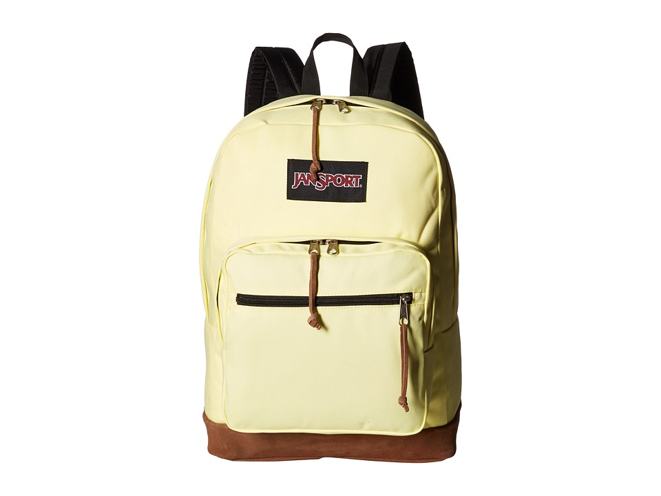 JanSport Right Pack (Yellow Iris) Backpack Bags