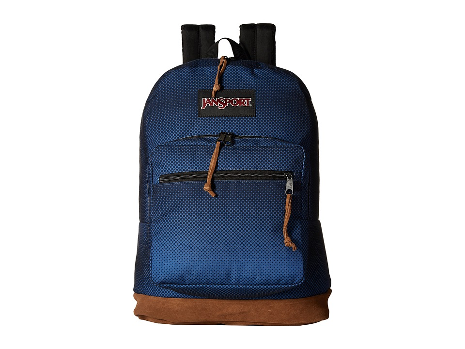 JanSport Right Pack Digital Edition (Jansport Navy Halftone Fade) Backpack Bags